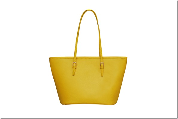 Mustard Yellow bag from Shiq Bags
