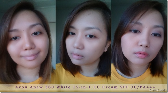 cc cream collage