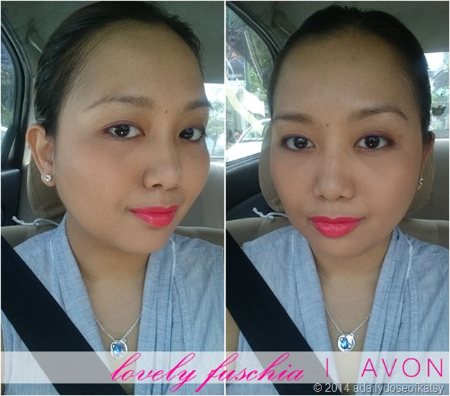 fotd lovely fuschia