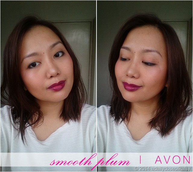 fotd smooth plum