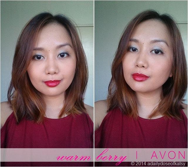 2/36   FOTDs: Avon Ultra Color Absolute Lipsticks Part 1